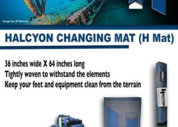 Halcyon changing mat