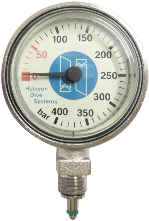 Halcyon Submersible Pressure Gauge for Stage