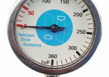 Halcyon Master Submersible Pressure Gauge